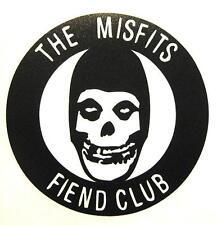 "MISFITS AUFKLEBER / STICKER # 39 ""FIEND CLUB"" RUB ON RUBBEL - WETTERFEST - 13cm"