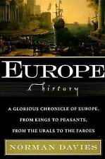 Europe: A History, Good Condition Book, Davies, Norman, ISBN 9780060974688