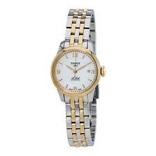 Tissot Le Locle Automatic Silver Dial Two-tone Ladies Watch T41218334