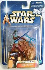 Star Wars Attack of the Clones Aayla Secura Jedi Knight - Hasbro 2002