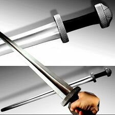 Viking Style sword Hand Forged High Carbon Spring Steel sharp blade #0043
