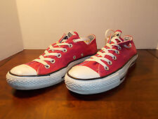2000's Hot Pink Canvas Low Coverse Women's 8 FREE SHIPPING (used)