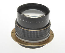 "Carl Zeiss Jena fast 165/2.7 16.5cm F:2.7 old lens 1925c with ""strange"" mount"