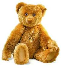 NEW STEIFF ANNIVERSARY 125 Teddy Bear Sapphires Karat Carat Gold & Diamonds LTD