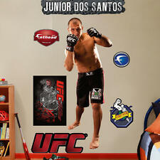"JUNIOR cigano DOS SANTOS 2'5"" X 6'4"" UFC MMA REAL BIG FATHEAD + All Extras"
