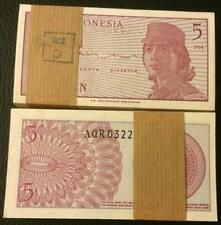 Indonesia 5 Sen 1964 (UNC) 100pcs