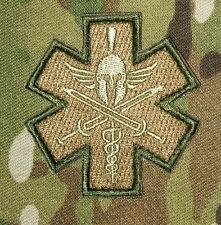 PIRATE MEDIC TACTICAL EMT EMS US MILITARY USA ARMY MORALE CAMO HOOK PATCH