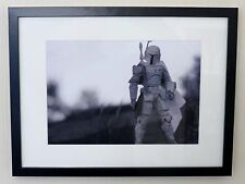 "Star Wars ""Prototype Boba Fett"" Toy Art Framed A4 Printed Poster Prints Image"
