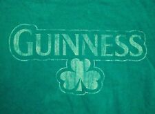 Guinness Beer Irish Ireland St. Patty's Patricks Day College Party T Shirt M