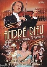 ANDRÉ [ANDRE] RIEU: At Schonbrunn, Vienna DVD MUSIC The Johann Strauss Orchestra