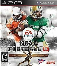 PLAYSTATION 3 NCAA FOOTBALL 13 - PS3 - BRAND NEW VIDEO GAME - FREE SHIPPING