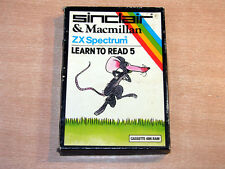 Sinclair ZX Spectrum - Learn To Read 5 by Sinclair