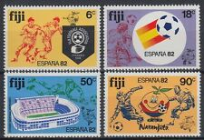 Fiji 1982 ** Mi.460/63 Fußball Football Championship Spain [sq6706]