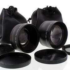 WIDE + TELE LENS Kit FOR Nikon D40 D50 18-55mm 55-200mm
