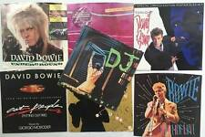 "Lot of 7 DAVID BOWIE 7""45 Singles Vinyl with Picture Sleeves"