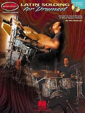 Latin Soloing for Drumset Book With CD #3988