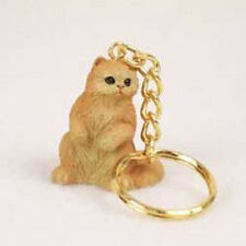 Persian Red CAT Tiny One Resin Keychain Key Chain Ring