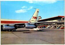 Cartolina Aviazione - Aeroporto Fiumicino (Roma) – Viaggiata