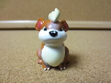 Vintage Genuine Pokemon Stamped AULDEY TOMY Toy Figure 2 inch Growlithe (PG985)