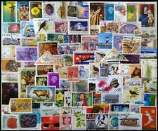 WORLD WIDE Large Thematic 100 Different Postage Stamps-1st Series