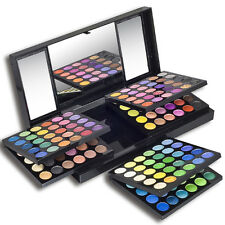 Manly 180 color Eye Shadow Palette eyeshadow Kit set 6 black cosmetic brush New