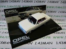 voiture 1/43 IXO eagle moss OPEL collection n°52 : KADETT B Limousine 1965/1973