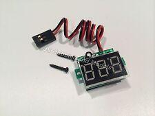 Aereo radiocomandato/aereo/Elicottero - A Bordo LED Display voltaggio RX