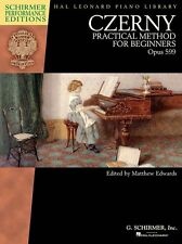 Czerny Practical Method For Beginners Op 599 Learn to Play EASY PIANO MUSIC BOOK