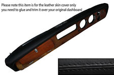 BLACK STITCHING DASH DASHBOARD LEATHER SKIN COVER FITS TRIUMPH VITESSE MK2