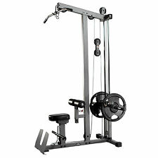 Xmark Fitness XM-7618 Lat Pulldown and Low Row Cable Machine