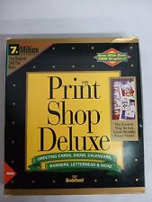 Broderbund The Print Shop Deluxe