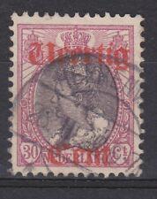 NVPH Netherlands Nederland 102 used TOP CANCEL HEERENVEEN 1919 Hulpuitgifte