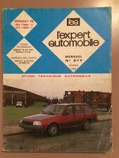 Revue Technique L'expert Automobile RENAULT 18 GTL 1600 et GTX