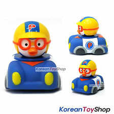 Pororo Soft Mini Car Toy - Police Car Pastrol Car / Full Back Gear