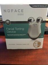 NuFace Mini Facial Toning Device Portable Kit Anti-Aging New Open Box.