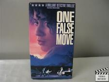 One False Move VHS Bill Paxton, Vynda Williams, Billy Bob Thornton, Jim Metzler