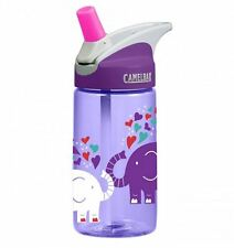 New Camelbak Eddy Kids Water Bottle Elephant Love 400ml 12oz Spill Proof Tumbler