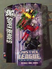 DC SUPERHEROES/JLU MR.MIRACLE/ORION/DARKSEID SET-APOKOLIPS Nice DARKSEID MISP