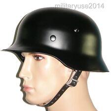 WW2 WWII German Army Elite M1935 M35 Steel Helmet M35 Helmet Black