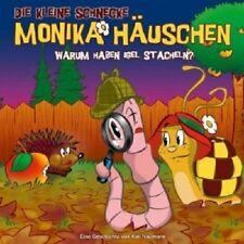 DIE KLEINE SCHNECKE MONIKA HÄUSCHEN - 33: WARUM HABEN IGEL STACHELN?  CD NEU