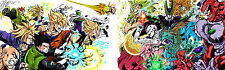 POSTER A4 PLASTIFIE-LAMINATED(1 FREE/1 GRATUIT)*MANGA DRAGON BALL Z VS COMICS.