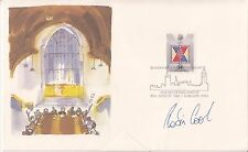 ROBIN COOK AUTOGRAPHED COVER HOUSES OF PARLIMENT