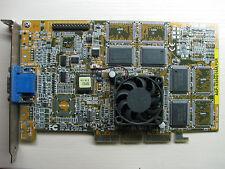 ASUS AGP-V3800 PRO nVidia RIVA TNT2 AGP 16MB SDR VGA Graphics video card TEST OK