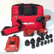 "HILTI SIW 18T-A  1/2"" 21.6v 18v CPC HIGH-TORQUE IMPACT WRENCH 2 BATTERY KIT"