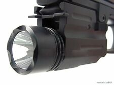 CREE Flashlight/light for 4 Pistol/Glock w/Quick Release Mount Weaver Rail #r50