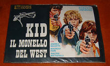 ALBUM Figurine Panini KID IL MONELLO DEL WEST SIGILLATO/SEALED Completo EDICOLA