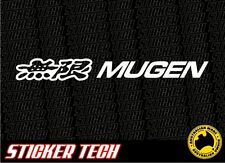 MUGEN STICKER DECAL SUITS HONDA CIVIC EK ED EG INTEGRA EK9 JDM JAZZ S2000 CRX