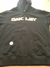 """OAKLEY- Black Hooded Sweatshirt """"Unleash the Beast"""" New with Tags Size XL"""