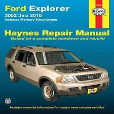 2002-2010 Ford Explorer Mercury Mountaineer Repair Manual 06 2007 2008 2009 8116