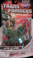 TRANSFORMERS UNIVERSE CLASSICS DELUXE DECEPTICON ACID STORM - UNOPENED ON CARD!